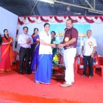Distribution of M N V G Adiyodi Memorial  Merit Award Shri. V R Rajeev (Registrar, Kerala State Pharmacy Council)