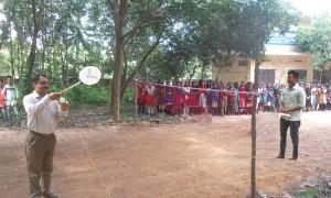 Inauguration of Badminton Court